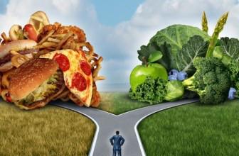 gezond eten is afvallen